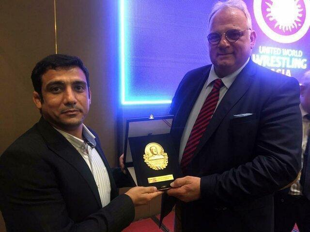 بنی تمیم نماینده اتحادیه جهانی در مسابقات کشتی جنوب آسیا شد