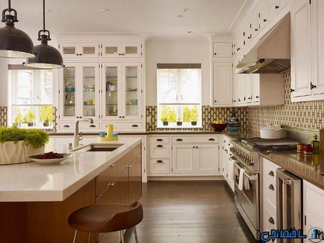 دکوراسیون آشپزخانه بر اساس اصول فنگ شویی