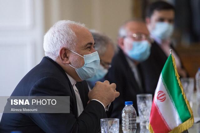 ظریف: خروج مسئولانه نیروهای خارجی از افغانستان گامی در جهت صلح پایدار است